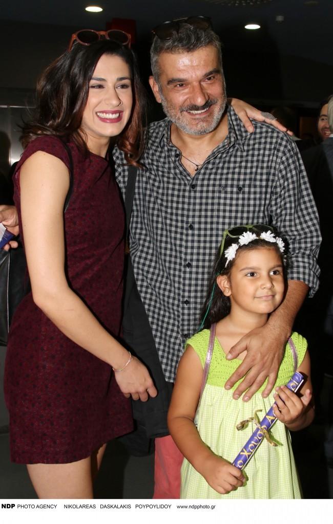 Νίκη Γρανά, Κώστας Αποστολάκης με την κόρη του