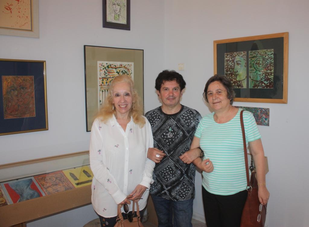 Η δρ. φιλοσοφίας Σοφία Μωραίτη, ο Κώστας Ευαγγελάτος, η δρ. φιλοσοφίας της αγωγής Άννα Μαρκοπούλου.