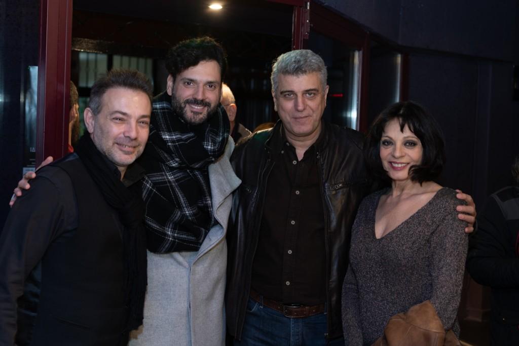 Δημήτρης Μητρόπουλος, Δημήτρης Ίσσαρης, Βλαδίμηρος Κυριακίδης, Έφη Μουρίκη