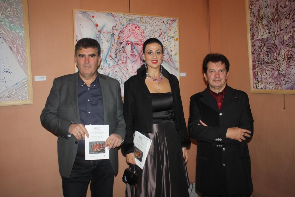 Κωνσταντίνος Σκουρλάς-Ιωάννα Μάστορα-Κώστας Ευαγγελάτος