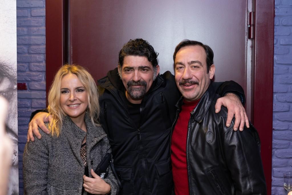 Μαρία Ανδρούτσου, Μιχάλης Ιατρόπουλος, Σωτήρης Καλυβάτσης